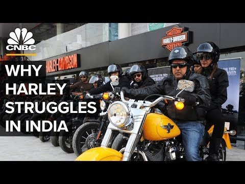 Why Harley-Davidson Is Struggling In India