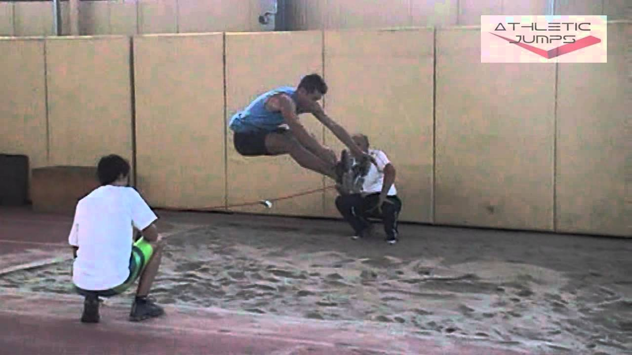 Long jump landing