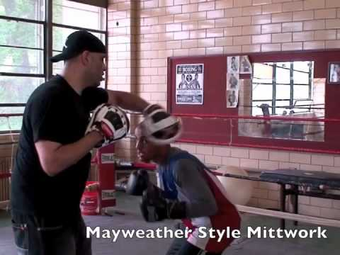 Coach Rick - Mayweather Style Defense & Counter Training using the Art of Technical Boxing Mittwork Image 1