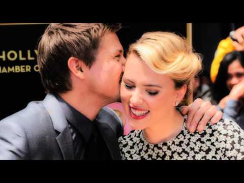 jeremy renner & scarlett johansson | always a good time