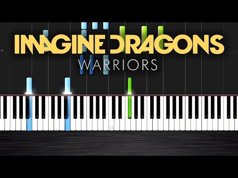 Imagine Dragons - Warriors (League of Legends) - Piano Cover/Tutorial by PlutaX - Synthesia