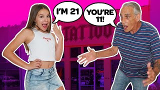 KIDS TURN 21 YEARS OLD Challenge **GRANDPA REACTS PRANK** 💋🔥| Piper Rockelle