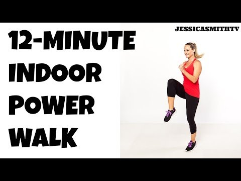 12-Minute Fat Burning Power Walk Home Workout