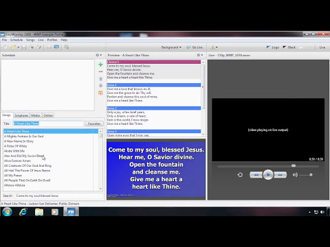 Adding Media to EasyWorship 2009