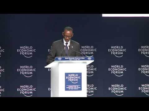 President Kagame opening remarks at the World Economic Forum on Africa | Kigali, 12 May 2016