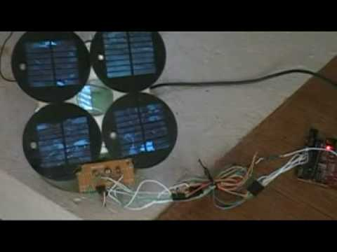 Sun Tracking Solar Panel w/ Arduino - Powers ITSELF!!!