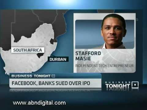 Facebook and Banks Sued over IPO