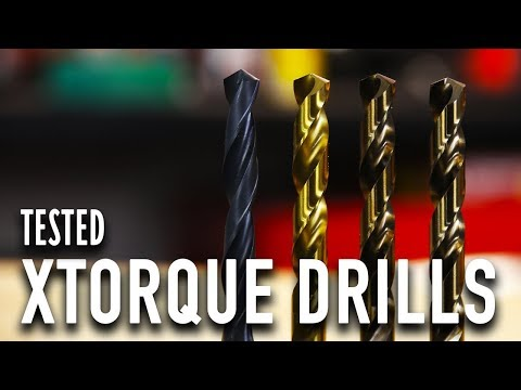Drilling Through Plate Stainless Steel - Xtorque Tested