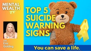 Top 5 Suicide Warning Signs