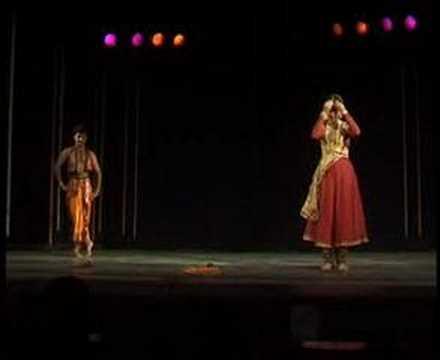 Nritya Sangam --- Kathak and Bharatanatyam jugalbandi
