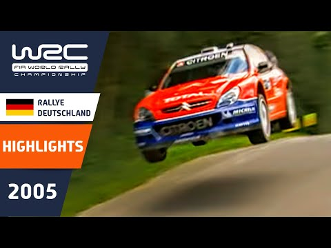 WRC Highlights: Germany 2005: 52 Minutes