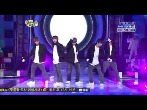 [hq] Stars Dance Battle 2010 - 2pm & Super Junior - Last Sence video