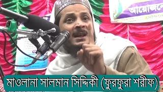Dobra Tafsirul Quran Mahfil 2017 By Maulana Salman Siddiki (furfura sharif) New Mahfil Bangla Waz