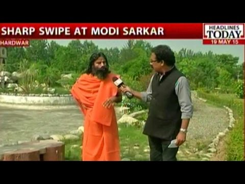 Baba Ramdev On Modi Government's First Year In Power & Rahul Gandhi's Return