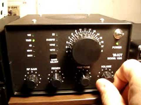 75 m AM on Regenerative Shortwave Kit Ten-Tec T1253