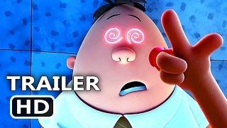 "CАPTАІN UNDERPАNTS ""Hypnotizing Transformation"" Clip + Trailer (2017) Animation, Kevin Hart Movie HD"