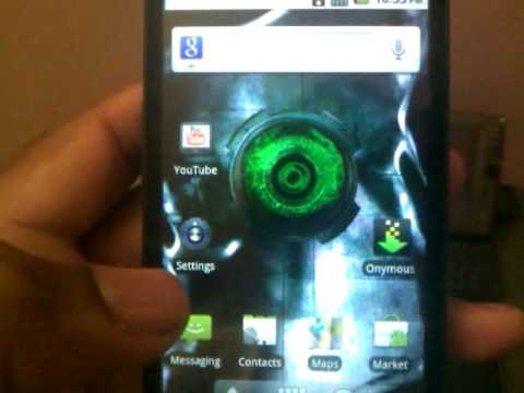 Tmobile HTC Hd2 Android 2.2 Froyo (español)