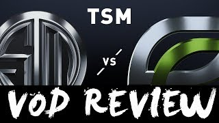 TSM vs. OPT - Week 4 Day 1 VOD REVIEW | LCS Spring Split | TSM vs. OpTic Gaming (2019)