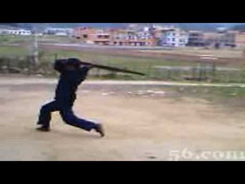 Bamboo carrying stick.wmv Image 1