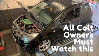Must watch! Mitsubishi Colt CZT Fails Health Checks before Ecutek Remap