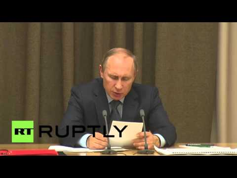 Russia: Putin calls for further development of Russian space industry