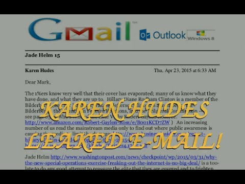 JADE HELM 15 - KAREN HUDES (World Bank) E-MAIL