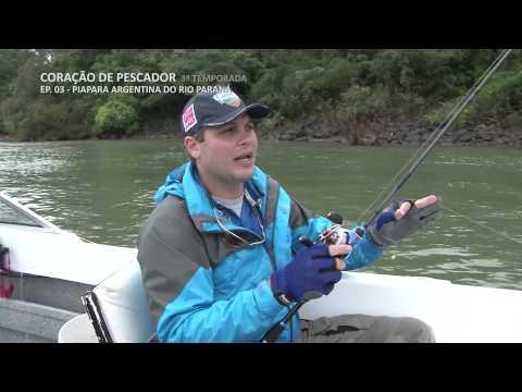 Coração de Pescador - 3ª Temporada - EP03 - Piapara argentina do Rio Paraná