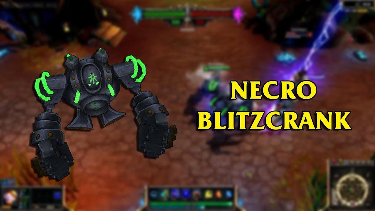 Blitzcrank custom skins