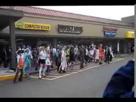 Thriller Flash Mob - 10/12/13, Eugene, OR