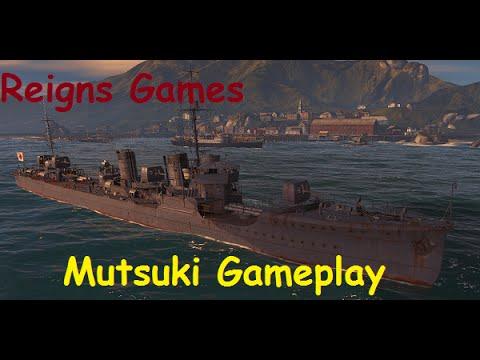 World of Warships Tier 6 Japanese Destroyer Mutsuki (Gameplay) 2 on Solomon Islands