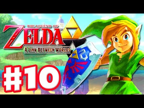 The Legend of Zelda: A Link Between Worlds - Gameplay Walkthrough Part 10 - Lorule (Nintendo 3DS)