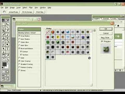 Photoshop Map Tutorial Photoshop Dungeon Tutorial pt