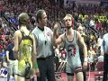 Iowa State Wrestling Tournament action from Friday