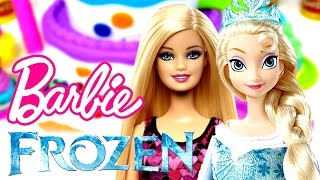 Karlar Ülkesi Elsa ve Barbie