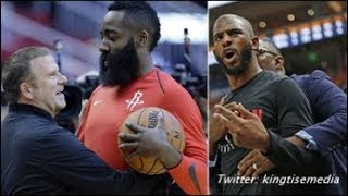 James Harden Tells Rockets PICK, ME Or CHRIS PAUL & CP3 DEMANDS A Trade