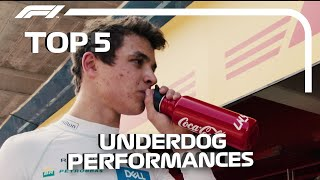 Top 5 F1 Underdog Performances in 2019 So Far...