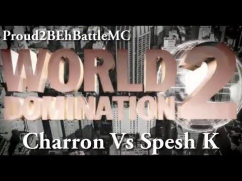 KOTD - Charron Vs Spesh K (Proud2BEhBattleMC WD2)
