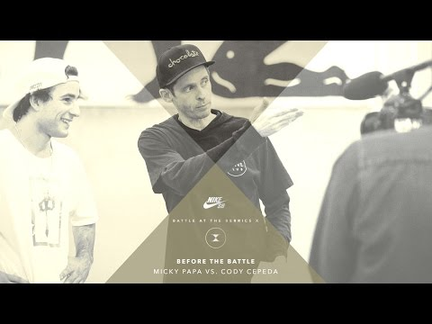 BATB X | Before The Battle - Cody Cepeda vs. Micky Papa