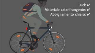 Bici Film Di notte, luci sempre accese! versione italiana