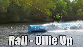 Ollie On/Up Obstacle Wakeboard Tutorial