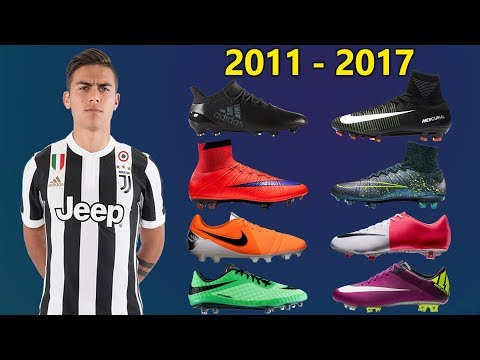 Paulo Dybala - New Soccer Cleats & All Football Boots 2011-2017