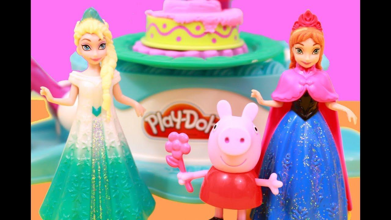 How To Make A Disney Frozen Princess Cake