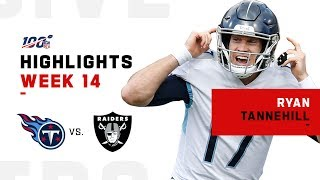 Ryan Tannehill DISMANTLES Raiders w/ 391 Yds & 3 TDs | NFL 2019 Highlights