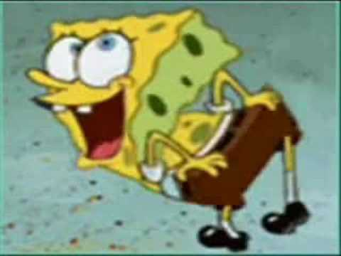 Spongebob - Im Bad (micheal Jackson) video
