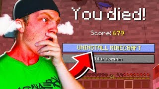 I PROMISE, YOU WILL RAGE. (UNFAIR MINECRAFT)