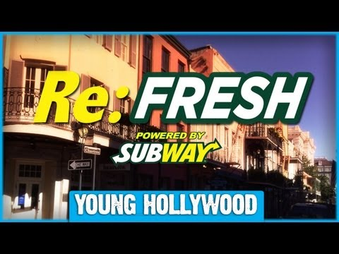 Young Hollywood Re:FRESH - Lil Wayne, Victor Cruz, & More at the Super Bowl!