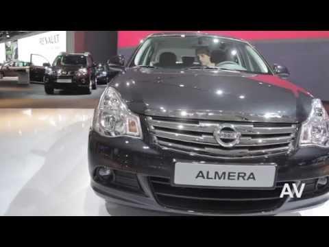 Новая Nissan Almera 2012