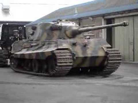 King Tiger Bovington