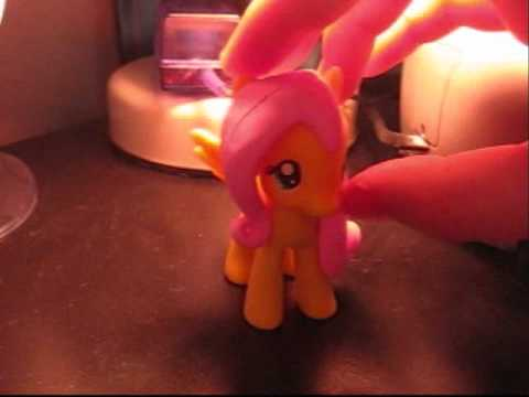 Custom MLP:FiM Fluttershy (with sculpted hair)