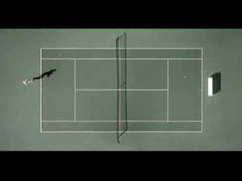 Roddick vs Pong (American Express)